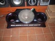 Автозвук, активный сабвуфер17 mac audio Z4100 1000w