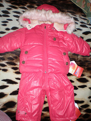 Детский зимний комбинезон и куртка Войчик