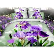Постельное белье ТМ Viluta – Сатин 3D фотопринт Элитное постельное б