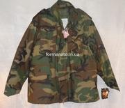 КУПЛЮ Б/У куртку M65 (с подстежкой),  woodland