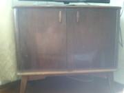 Продам б/у комод+книжный шкаф+ тумба под телевизор (может быть угловая
