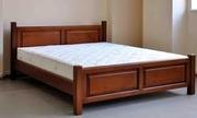 Кровати двуспальные и двухъярусные из натуральных пород дерева