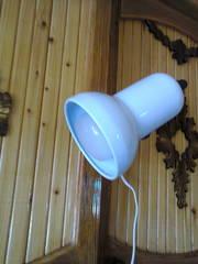 Настольная лампа на прищепке