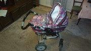 Детская универсальная коляска с надувными колесами Anmar Hilux 2 в 1