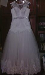 продам свадебное платье в отличном состоянии без всяких повреждений
