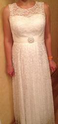 шикарное свдебное платье