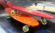 Penny Board 22 с колесами от скейтборда