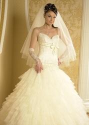 Свадебное платье шикарное фирмы Розмарин