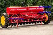 Сеялка зернотуковая Grain 3, 6 прикатывающие катки,  м/р15см.