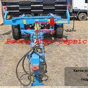 Каток -измельчитель режущий водоналивной гидрофицированный КР-6П-01.