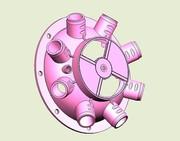 Раструб вентилятора (пластмас.) СУПН, УПС, СУ,