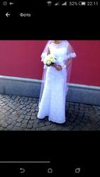 Продам кружеаное свадебное платье, очень красивое