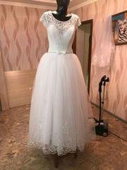 продаю красивое свадебное платье. Срочно