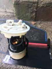 Б/у датчик уровня топлива,  колба Renault Megane Scenic I,  7700420306B,