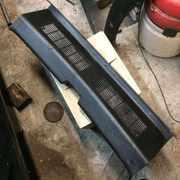 Б/у облицовка пластик багажника Smart Forfour 454,  A4546940125,  MR9516