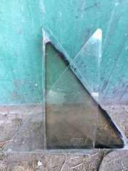 Б/у стекло в заднюю дверь Ford Escort,  Форд Эскорт (1985 - 1990)