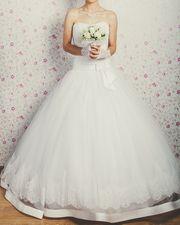 Свадебное платье в хорошем состоянии