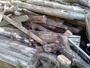 Продам б/у дрова, доски и рельсы из дерева.